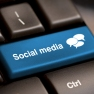 Computer button for social media and job search