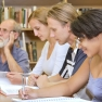 Adults in a continuing education program