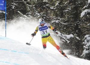 Paralympic skier, Matt Hallat
