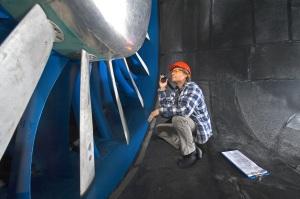 An aerospace engineer