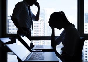 A stressed team, victims of poor leadership skills