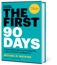Book: The First 90 Days