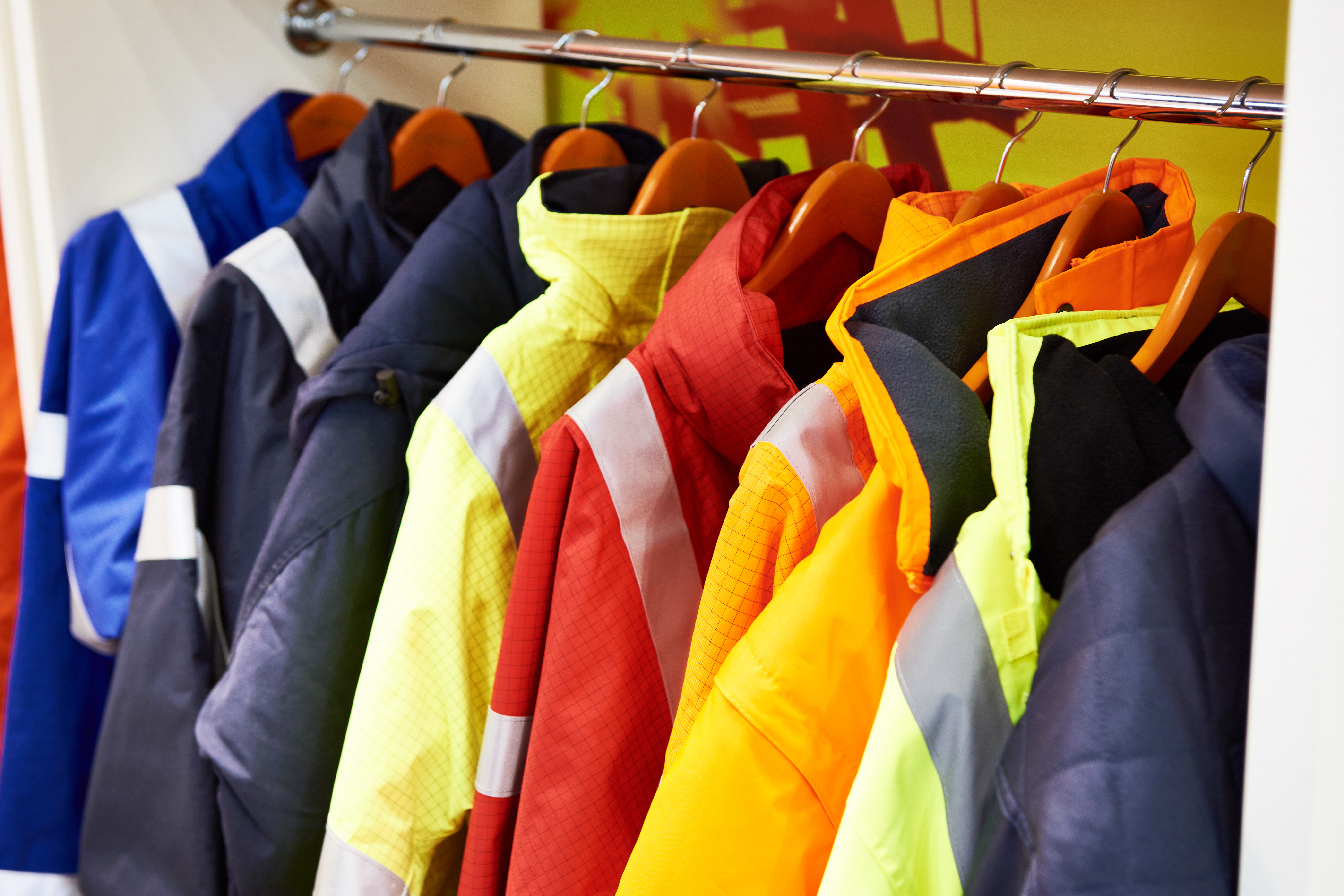 Jackets for workwear: safe work