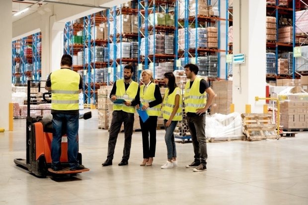 Training on forklift: Occupational health and safety