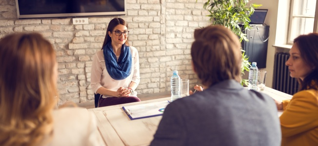 Young professional on job interview: how to prepare for a job interview