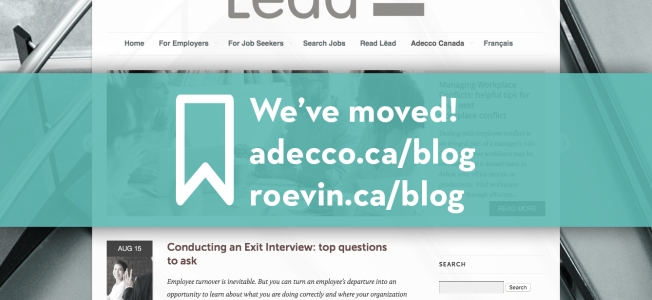 New Adecco blog