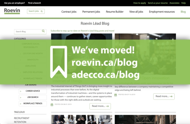 New Roevin blog